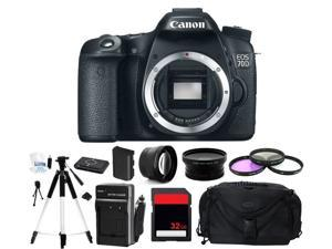 Canon EOS 70D Digital SLR Camera (Body Only) (Photographer's Bundle)