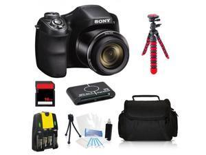 Sony Cyber-Shot DSC-H200 20.1 MP Digital Camera Advanced 16GB Photographers Kit