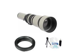 High Resolution Digital Zoom Lens 650-1300mm F8.0 for Nikon D5200 D40 D40X