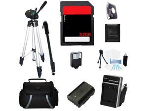 Advance Accessories Kit For Sony Alpha A6000 Mirrorless Digital Camera