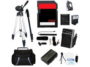 Professional Accessories Kit For Sony Alpha a7R Mirrorless Digital Camera