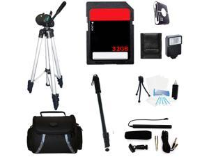 Professional Accessories Kit For Fujifilm X-T1 Mirrorless Digital Camera