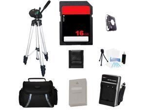 Beginner's Accessories Kit For Olympus OM-D E-M10 Digital Camera