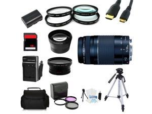 Advanced Shooters Kit for the Canon 6D includes: EF 75-300mm f/4-5.6 III + more