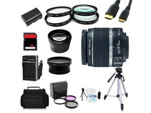 Advanced Shooters Kit for the Canon 6D includes: EF-S 18-55mm IS II + more