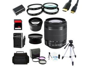 Advanced Shooters Kit for the Canon 6D includes:EF-S 18-55mm STM + MORE ...