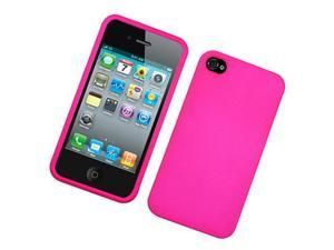 Apple iPhone 4 Hot Pink Snap On Protective Case Cover (Verizon & AT&T)