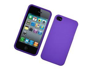 Apple iPhone 4 Purple Snap On Protective Case Cover (Verizon & AT&T)