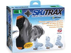 SHOE TRACTION, SKITRAX, X L, BLACK,