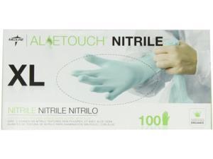 Medline Industries- INC. MIIMDS195087 Nitrile Exam Gloves- Powder Free- X-Large- 100-IB