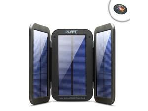 ReVIVE Portable Solar School Charger & 6000mAh Battery Pack - Includes Mouse Pad