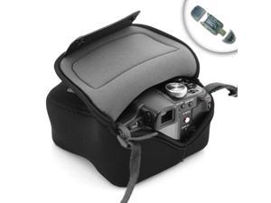 Flex Armor Compact Camera Pouch Sleeve for Sony NEX , Olympus PEN , Panasonic GF , Nikon 1 & more Micro Four Thirds System ...