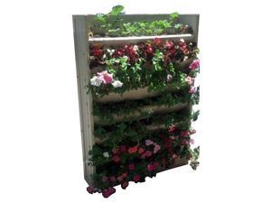 "New Age Pet 32"" Wide x 45"" Tall Living Wall Vertical Planter - EPVP001-W32H45"