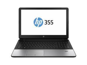 "HP Laptop 355 G2 AMD A-Series A8-6410 (2.00GHz) 4GB Memory 500GB HDD AMD Radeon R5 Series 15.6"" Windows 7 Professional 64-Bit with Windows 8.1 Pro License"