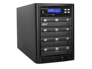 Aleratec Black 1 to 3 128M Buffer Memory DVD/CD Flash Copy Tower Model 310109