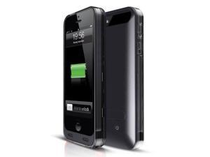 Mota Black/Clear Extended Battery Case iPhone 5, 5S (MFi) AP5-30K