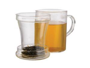 Primula PTA-3512 DST Personal Tea Maker (12 oz Mug, Loose Tea Infuser, Lid and Flowering Tea)