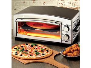 Black & Decker P300S Silver Pizza Oven