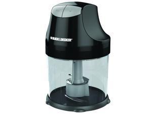 Black & Decker  EHC750BD  3-Cup Ergo Chopper Ergo 3 Cup Resealable Bowl, Black