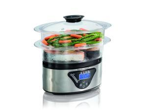 Hamilton Beach 37530Z 2 Tray Digital Food Steamer