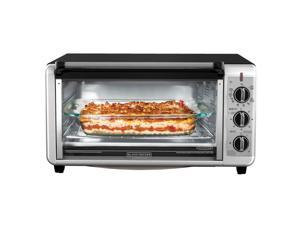 Black & Decker TO3260XSBD Stainless Steel Digital Extra-Wide Convection Oven, Stainless Steel