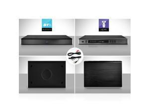 PyleHome PSBV830HDBT 2.1 CH Bluetooth HD Tabletop TV Sound Base Speaker System