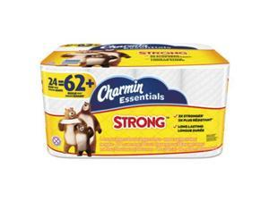 Essentials Strong Bathroom Tissue, 1-Ply, 4 x 3.92, 300/Roll, 24 Roll/Pack 96897