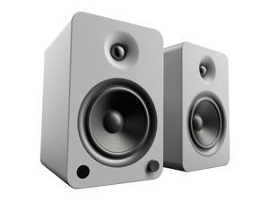 Kanto YU6 Powered Speakers with Bluetooth® and Phono Preamp, Matte Grey