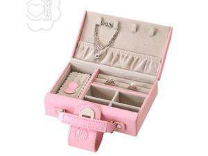 Aguchi Pink Bud Jewelry Collection Box with Magnetic Closure
