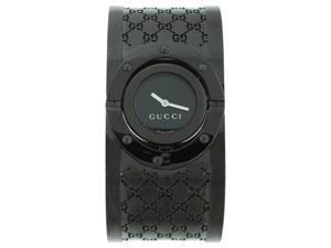Gucci Twirl Black Dial Ladies Watch YA112431