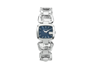 Gucci G-Gucci Class Blue Dial Stainless Steel Ladies Watch YA125508