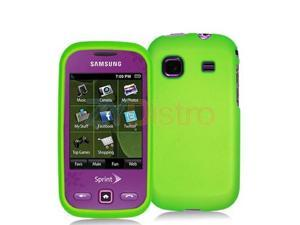 Neon Green Snap-On Hard Skin Case Cover for Samsung Trender M380