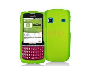 Neon Green Snap-On Hard Skin Case Cover for Samsung Replenish M580