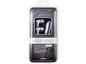 Link Depot LD-HDS-SLV 3.5in iPhone Earphones with Microphone - Silver