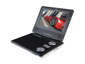 "DPI GPX PD701W Portable DVD Player W/ 7"" LCD Display, White"