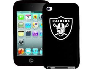 Tribeca Varsity Jacket Silicone Case for iPod Touch, Oakland Raiders