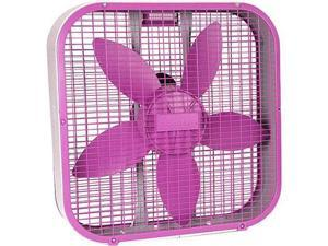 "Holmes 20"""""""" Box Fan-Purple"