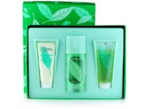 Green Tea by Elizabeth Arden for Women - 3 pc Gift Set 3.3 oz Scent Spray, 3.4 oz Refreshing Body Lotion, 3.3 oz Refreshing ...