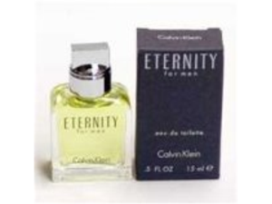 ETERNITY By Calvin Klein 0.5 oz / 15 ml EDT Splash MEN NEW IN BOX MINI