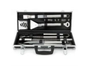 Mr. BBQ 18-Piece Tool set with Case