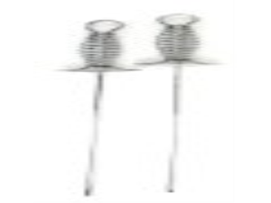 Chefs Basics HW5245 2-Piece Stainless Skewers with Pushers
