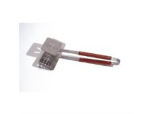 Outset QB57, Rosewood Slotted Multipurpose Turner Tong (oversized)