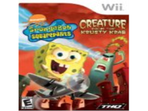 SpongeBob SquarePants: The Creature from the Krusty Krab for Nintendo Wii