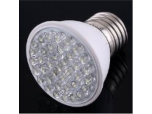 Ultra Bright 110V 1.9W E27 38 LED White Light Bulb Lamp(Ships from CA)