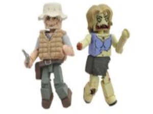 Diamond Select Toys Walking Dead Halloween 2012 B and W, 2-Pack