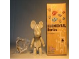 Toy2R Qee 2.5 inch Elemental Series (wood gray)