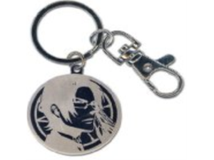 Black Butler 2 Claude Medal Circle Key Chain