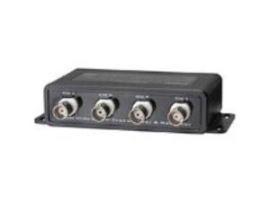 Video Balun 4 x BNC-F Input RJ-45 or Push Terminal Output