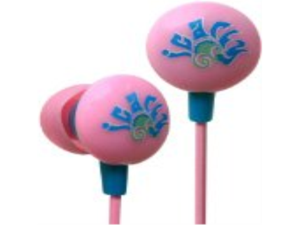 iHip ICF10301 Nickelodeon- iCarly Mini Printed Ear Buds - Pink/Blue