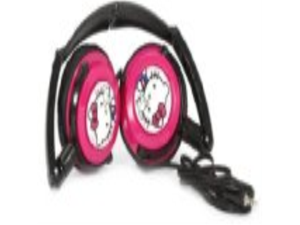 Hello Kitty DJ Style Headphones  (11609-HK)